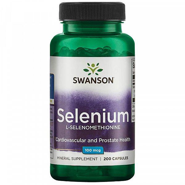 Селен (Selenium) 100 мкг 200 капсул