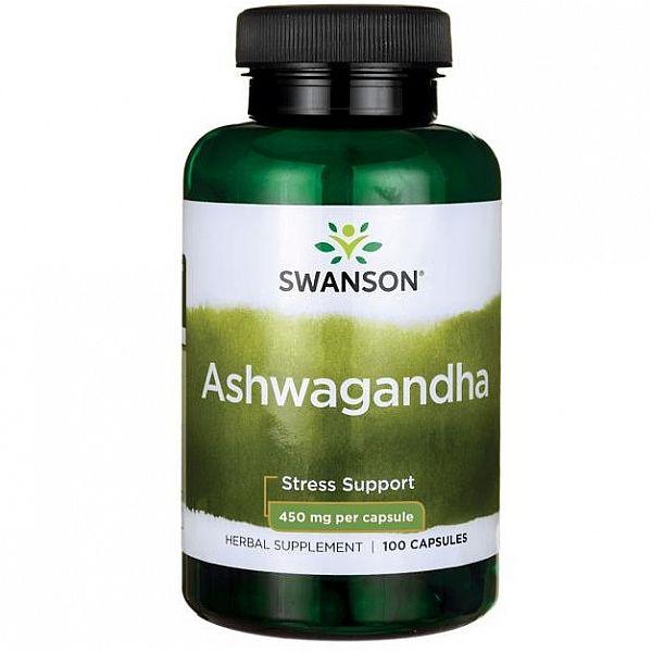 Экстракт корня ашвагандха (Ashwagandha) 100 капсул