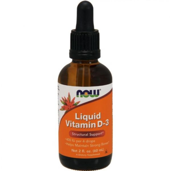 Жидкий витамин D3 (Vitamin Liquid D3) 400 ME 60 мл