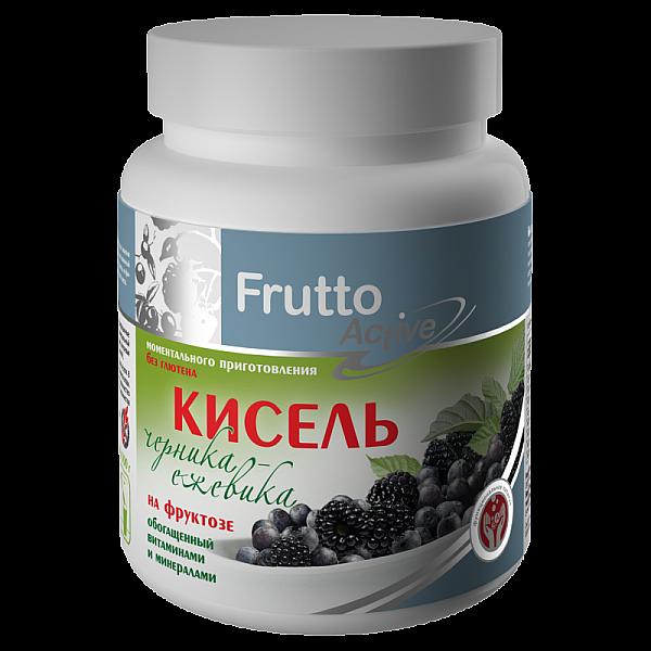 Кисель на фруктозе Черника-Ежевика 300 г