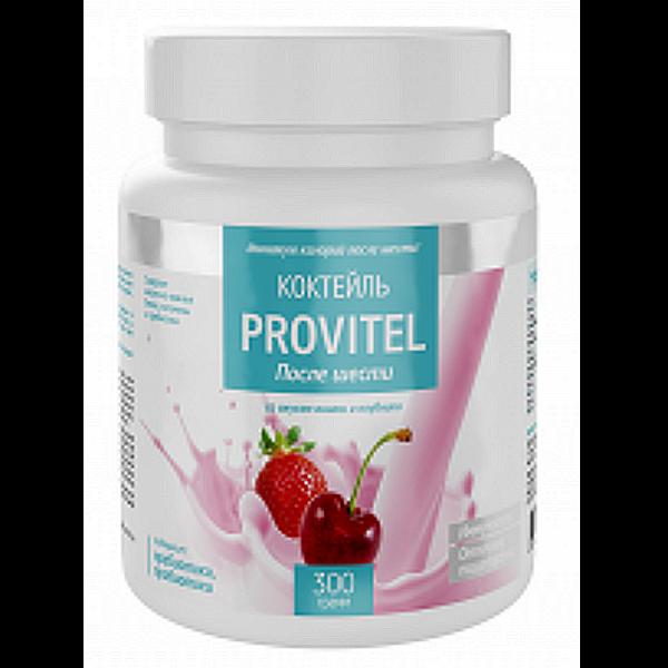 Протеиновый коктейль (Provitel после шести) 300 г с ягодным вкусом