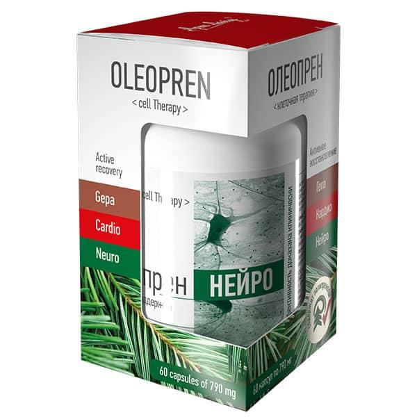 Нейропротектор (Олеопрен Нейро) 790 мг 60 капсул