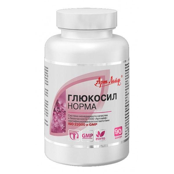 Глюкосил Норма 90 капсул