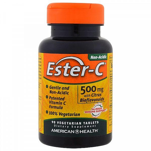 Эстер C-500 с биофлавоноидами (Ester C) 500 мг 90 таблеток