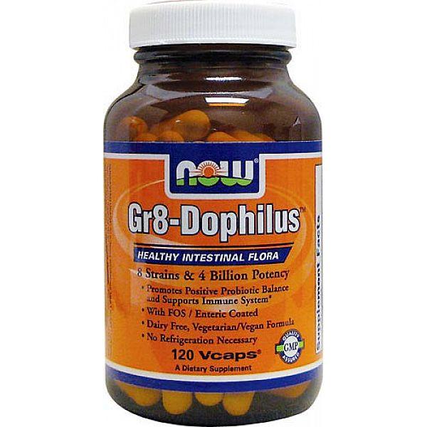 Пробиотики (Gr8-Dophilus) 4 млрд КОЕ 120 капсул