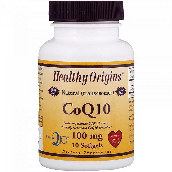 Коэнзим Q10 (Kaneka Q10 (CoQ10) 100 мг 10 капсул