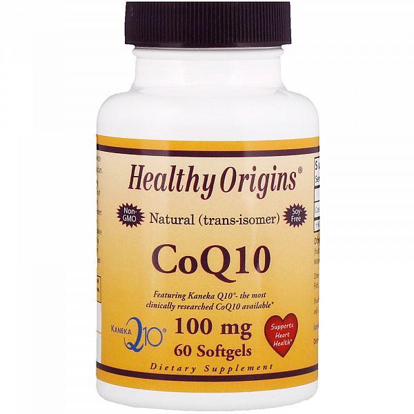 Коэнзим Q10 (Kaneka Q10 (CoQ10) 100 мг 60 капсул