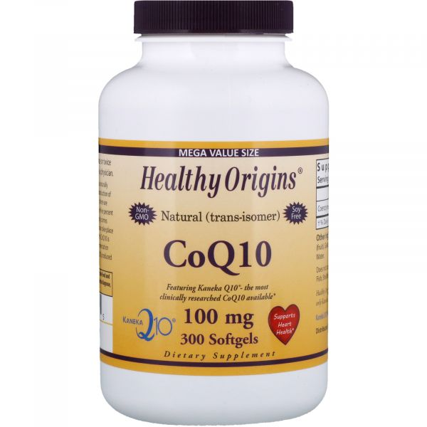 Коэнзим Q10 (Kaneka Q10 (CoQ10) 100 мг 300 капсул