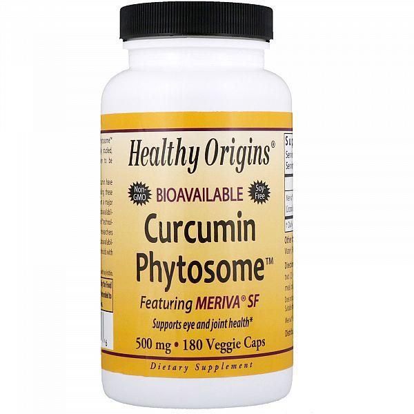 Куркумин (Curcumin phytosome) 500 мг 180 капсул