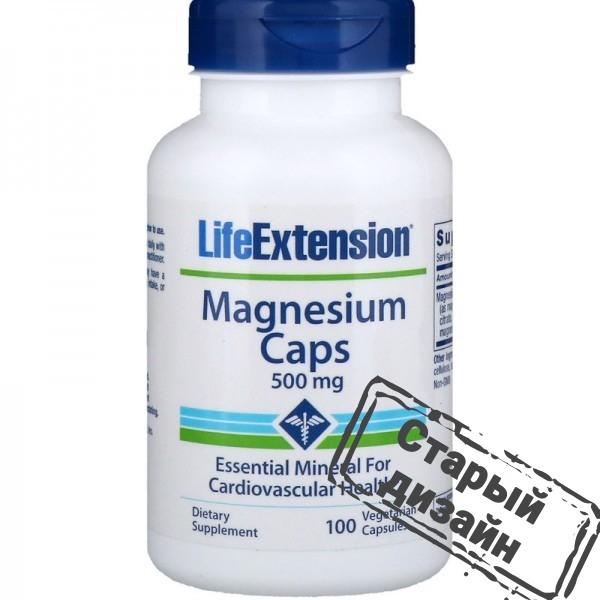 Магний (Magnesium) 500 мг 100 капсул