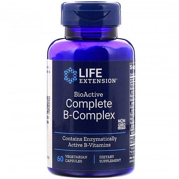 В-комплекс витаминов (BioActive B-Complex) биоактивный 60 капсул