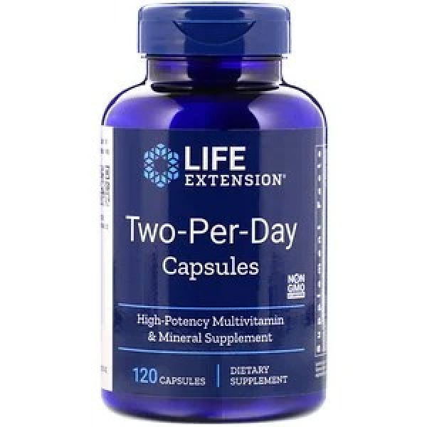 Мультивитамины (Two-Per-Day Capsules) 120 капсул