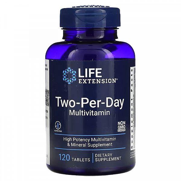 Мультивитамины (Two-Per-Day Tablets) 120 таблеток