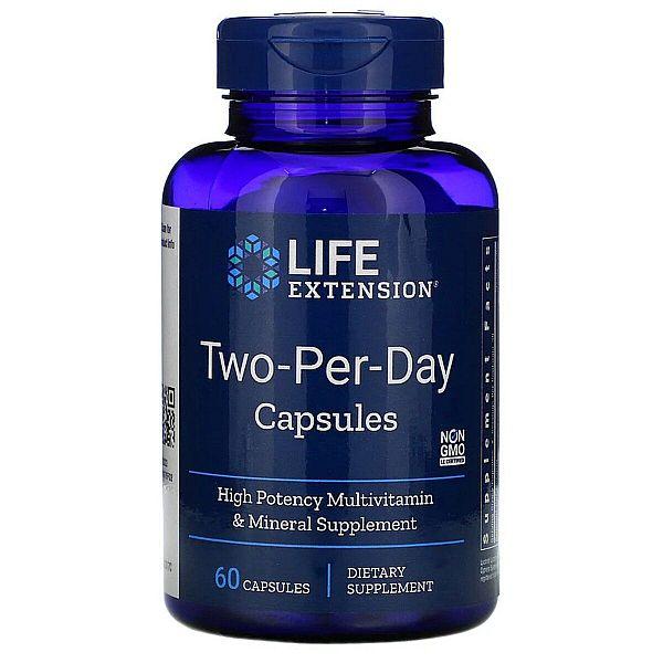 Мультивитамины (Two-Per-Day Capsules) 60 капсул