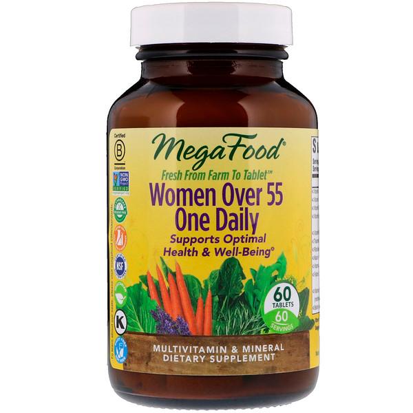 Витамины для женщин после 55 (55+ Women Over 55) 60 таблеток