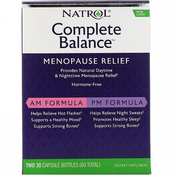 Менопауза полный комплекс Complete Balance for Menopause 2 банки по 30 капсул