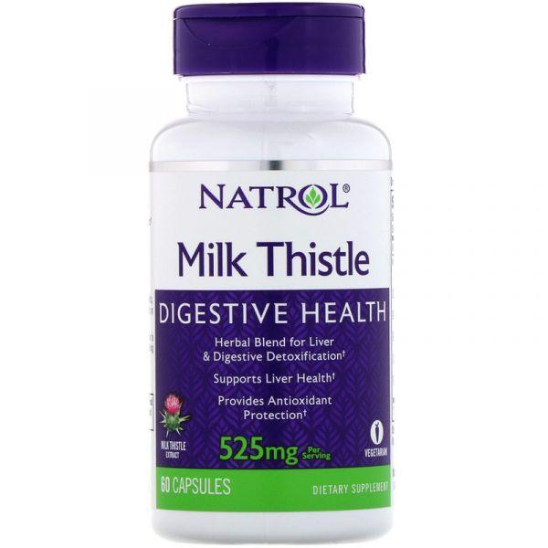 Расторопша Milk Thistle 262.5 мг 60 капсул