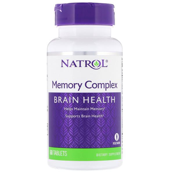 Витамины для памяти (Memory Complex) 60 таблеток