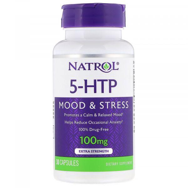5-HTP (5-Гидрокситриптофан) 100 мг 30 капсул