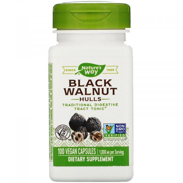 Черный орех (Black Walnut) 500 мг 100 капсул