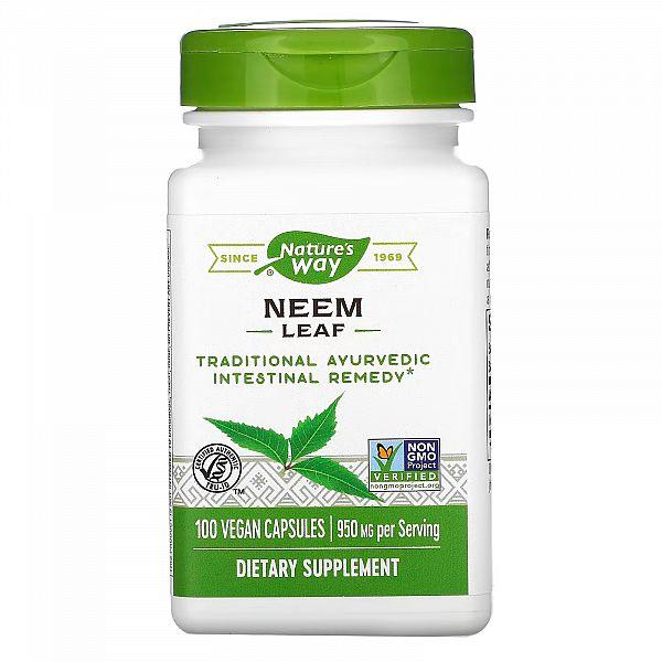 Лист Нима (Neem Leaf) 950 мг 100 капсул