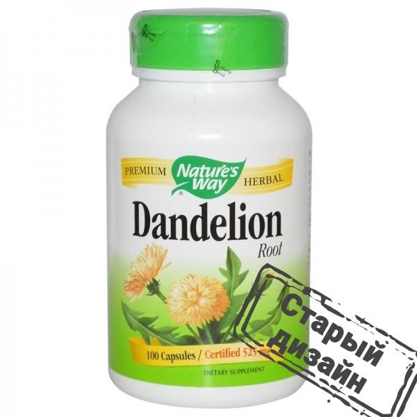 Корень одуванчика (Dandelion) 525 мг 100 капсул