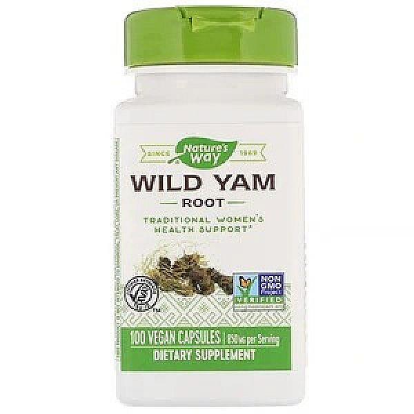 Дикий ямс (Wild Yam) 850 мг 100 капсул