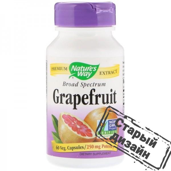 Экстракт грейпфрутовых косточек (Grapefruit) 250 мг 60 капсул