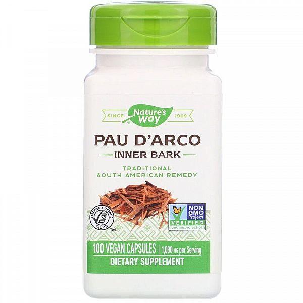 Пау Дарко (Pau d'Arco) 545 мг 100 капсул