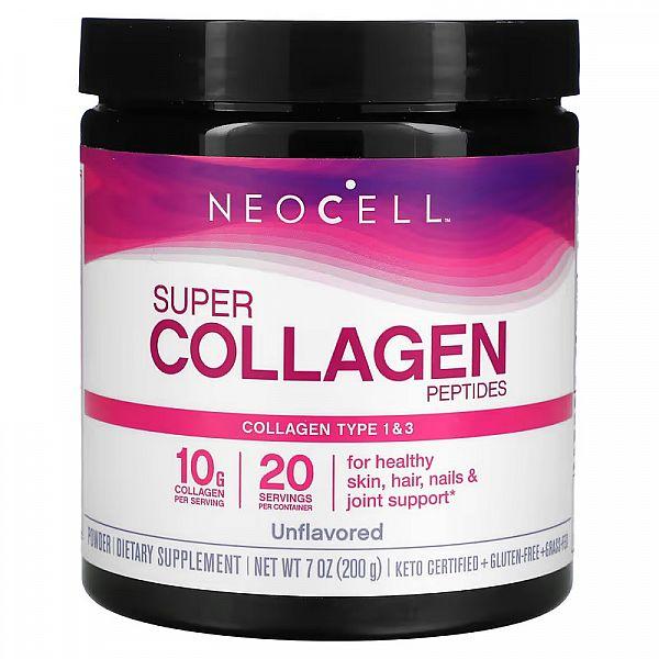 Супер коллаген тип 1 и 3 (Super Collagen) 198 г без вкуса