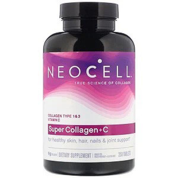 Супер Коллаген тип 1 и 3 с витамином C (Super Collagen+C) 250 таблеток