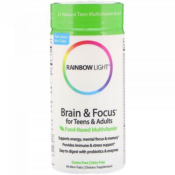 Витамины для мозга подростков и взрослых (Brain&Focus for Teens&Adults) 90 таблеток