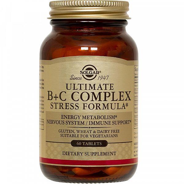 Витамин B+C комплекс (Ultimate B+C) 60 таблеток