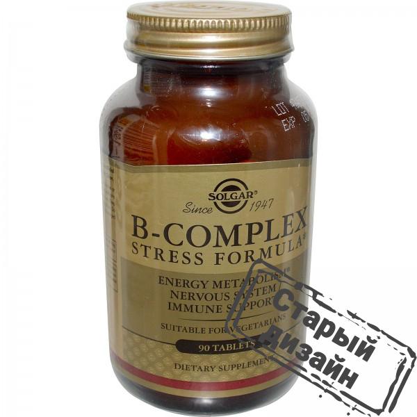 Защита от стресса В-комплекс (B-Complex Stress Formula) 90 таблеток