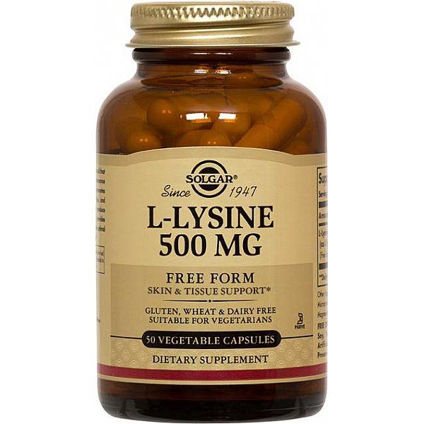 Л-Лизин (L-Lysine) 500 мг 50 капсул