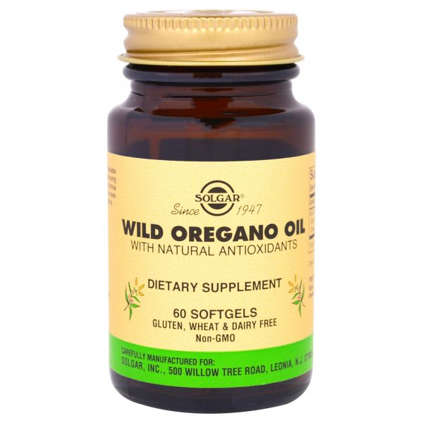 Масло орегано (Wild Oregano Oil) 175 мг 60 капсул