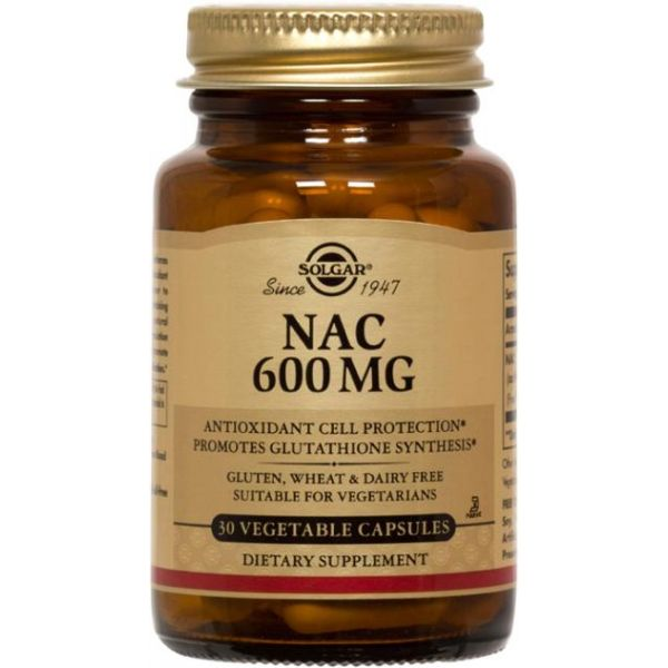Ацетилцистеин (NAC) 600 мг 30 капcул