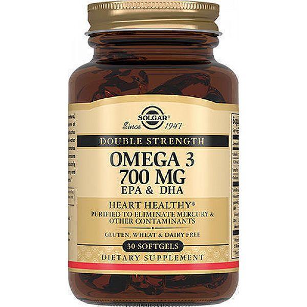 Омега-3 двойной силы (Omega-3 Double Strength) 700 мг 30 капсул
