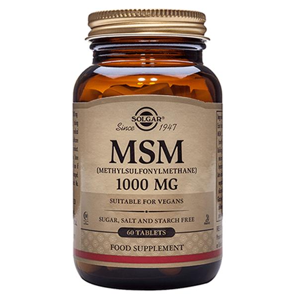Метилсульфонилметан (MSM) 1000 мг 120 таблеток