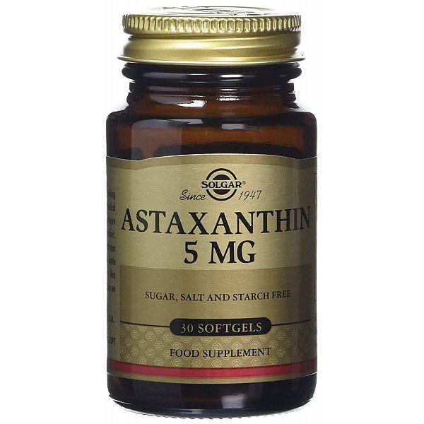 Астаксантин (Astaxanthin) 5 мг 30 капсул