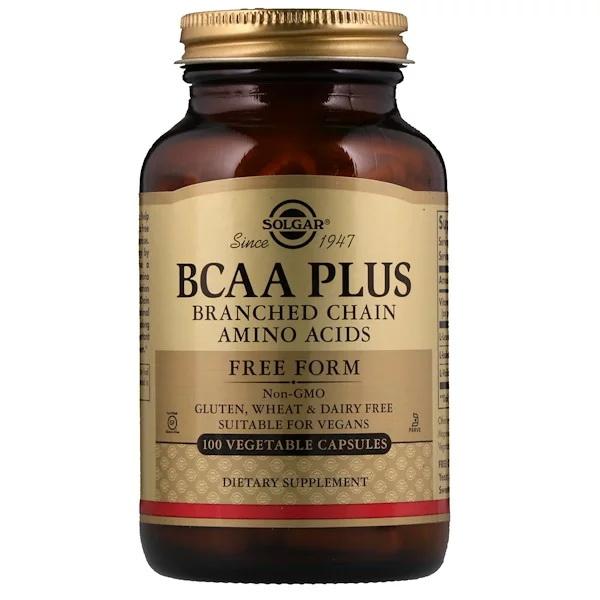 Комплекс аминокислот (BCAA Plus) 100 капсул