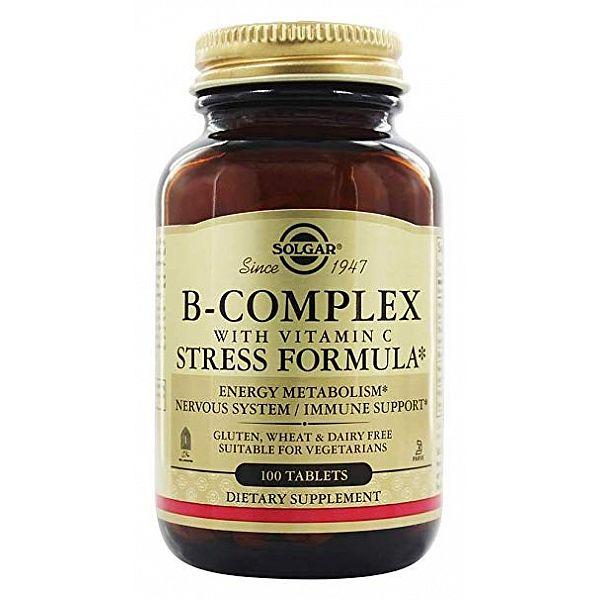 Комплекс витаминов B+C (B-Complex with vitamin C Stress Formula) 100 таблеток