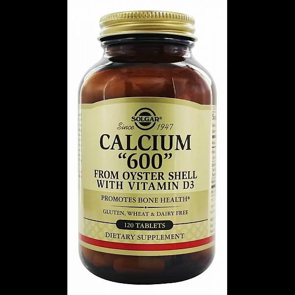 Кальций с витамином D3 из раковин устриц (Calcium 600 from oyster shell with vitamin D3) 600 мг/300 МЕ 120 таблеток
