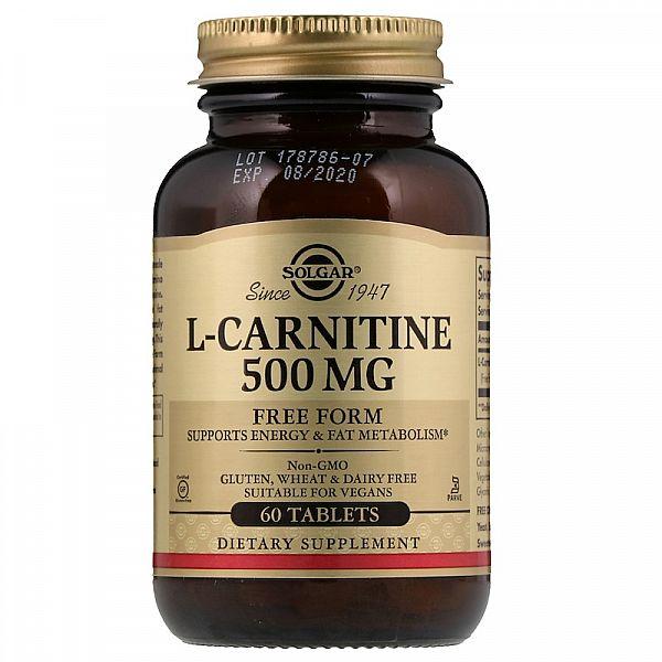 L-карнитин (L-Carnitine) 500 мг 60 таблеток