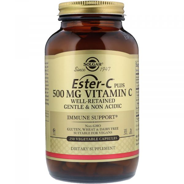 Витамин C сложноэфирный (Ester-C Plus) 500 мг 250 капсул