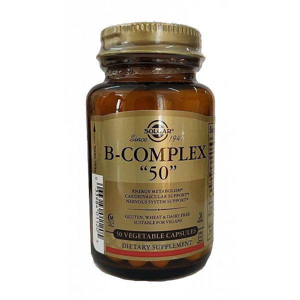 Комплекс витаминов В-50 (B-Complex) 50 капсул