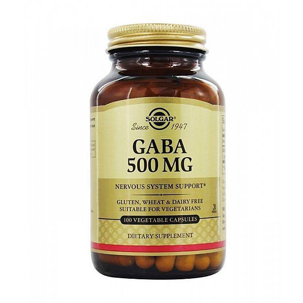 ГАМК (Гамма-аминомасляная кислота) (GABA) 500 мг 100 капсул