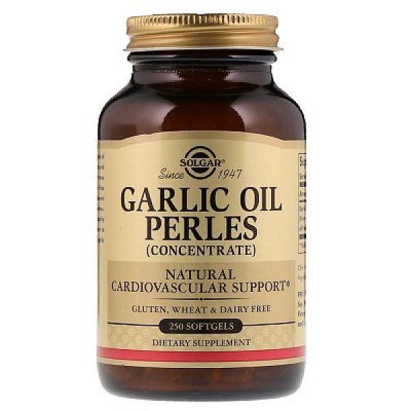 Чесночное масло (Garlic oil perles) 1 мг 250 капсул