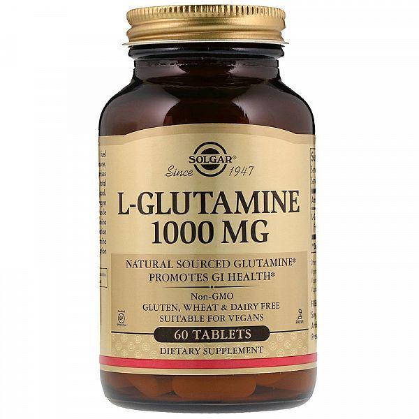 Глютамин (L-Glutamine) 1000 мг 60 таблеток