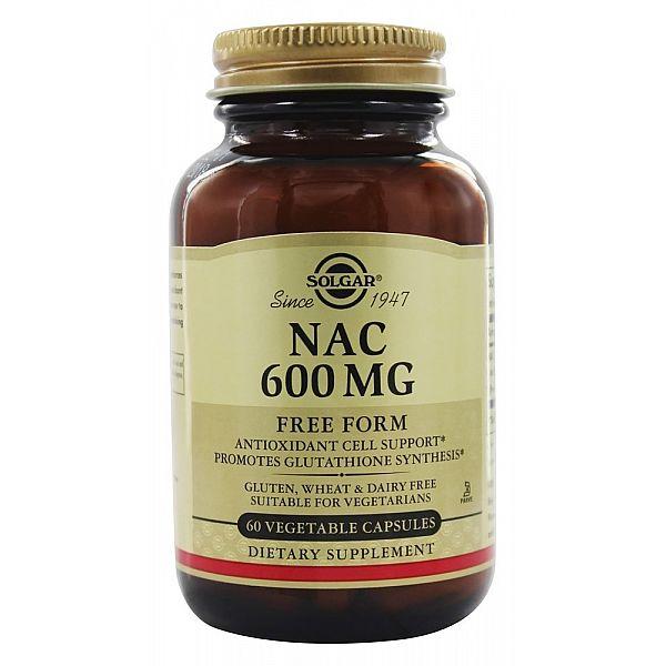 Ацетилцистеин (NAC) 600 мг 60 капcул